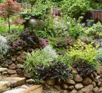 Альпинарий в саду